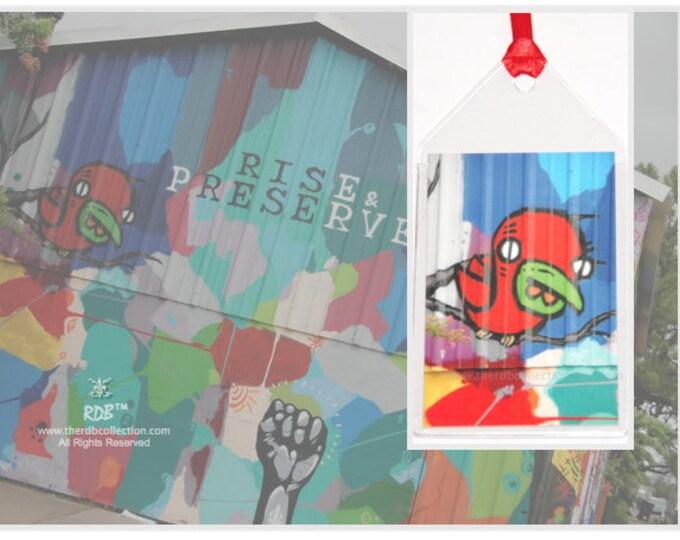 Red Bird Bookmark