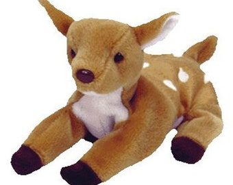 Vintage Beanie Baby: WHISPER the Fawn 1997- MINT Condition.