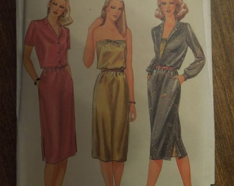 Butterick 3417, size 14, dress, UNCUT sewing pattern, craft supplies, misses, womens,