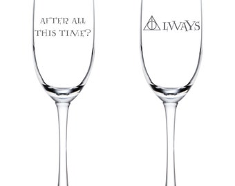 After All This Time?  Always Flutes - Harry Potter Wedding