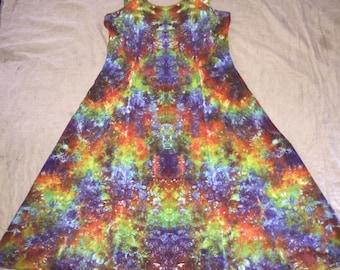 6114 Medium Rayon Long Ribbon Strap Dress