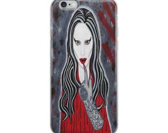 American Horror Story iPhone Case / Lady Gaga iPhone Case / Lady Gaga Art / American Horror Story Art / Gaga Glove / Lady Gaga / Gothic Art