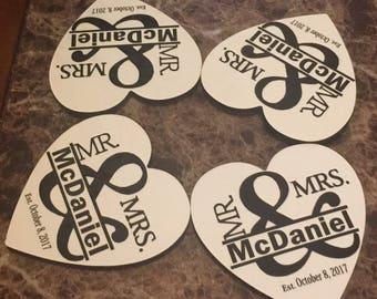 Personalized Coasters Set