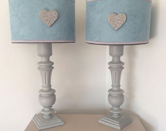 Great country chic, shabby spirit lamp
