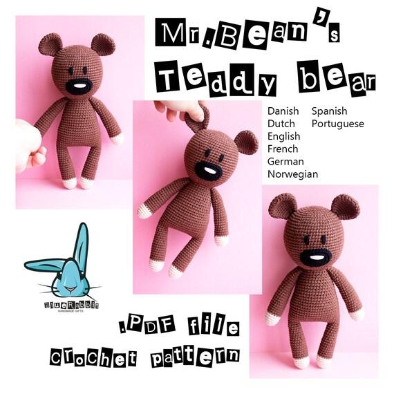 Mrans teddy bear amigurumi crochet pattern solutioingenieria Gallery