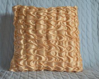 Wave design Satin cushion