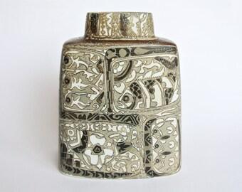 Vintage Baca vase made by Royal Copenhagen, designed by Nils Thorsson Denmark