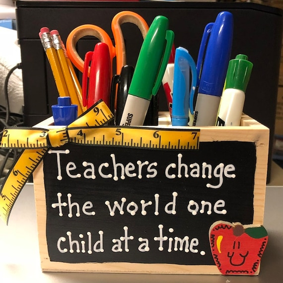 Inspirational teacher appreciation gift idea