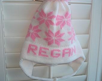 Personalized knit hat - Regan