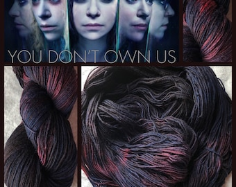 You Don't Own Us Handpainted Yarn