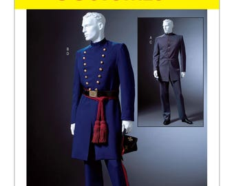 McCall's M4745 Blue & the Gray Civil War Coat and Trousers