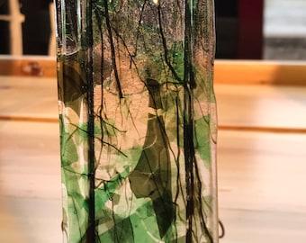 Green Pocket Vase