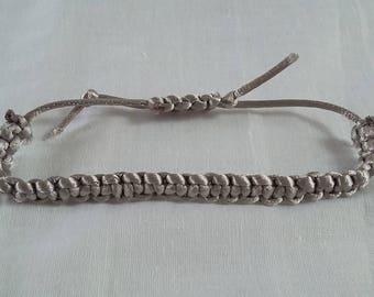 Adjustable Friendship Knotted Bracelet