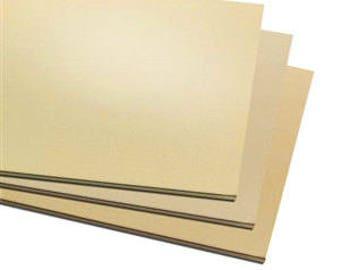 "6""x3"" Jewelers Brass Sheet Metal,  Blanks, Stamping, Choice of Gauge, Supplies, Findings, Metal Work"