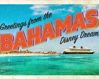 Disney Dream Bahamas Cruise