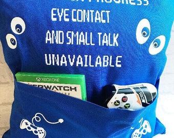 Gamer Pocket Cushion
