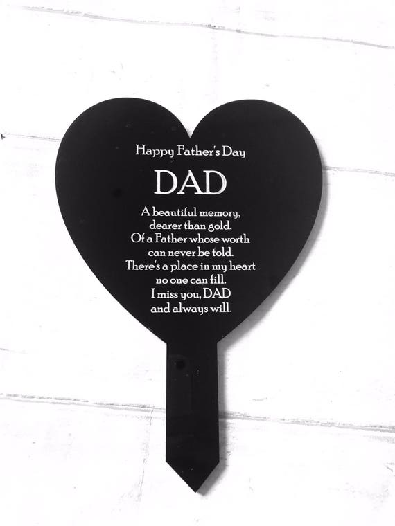 Father S Day Memorial Remembrance Memorial Grave Marker