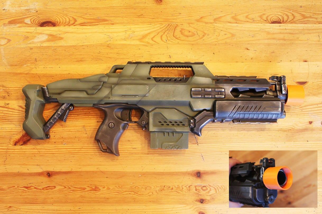 Nerf Retaliator Realistic Custom Blaster