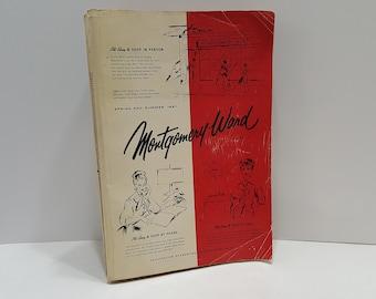1957 Montgomery Ward Spring Summer Vintage Catalog