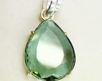 45.20Ct Certified Top Class Alexandrite Pendant 925 Solid Sterling Silver AU3929