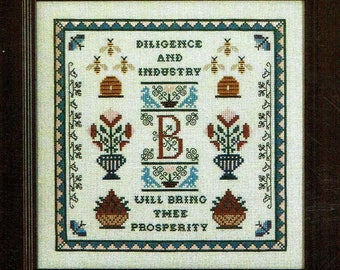 The Birds & The Bees by Milady's Needle Counted Cross Stitch Pattern/Chart
