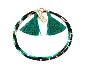 Natural bead bracelet Beaded Friendship Bracelet Bead Wrap Bracelet Natural bracelet Seed Bead Jewelry
