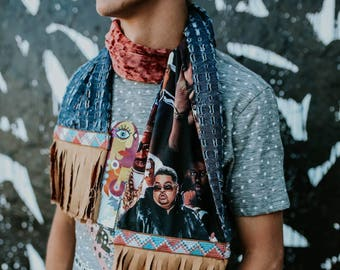 Hip hop street style art scarf