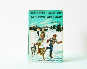 Vintage 1950s Happy Hollisters Book / Vintage Childrens Book / Collectible Book
