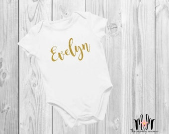 Personalized Baby Bodysuit | Onesie® | Name | Custom