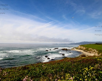 Half Moon Bay Beach and Cliffside