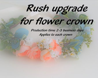 Rush Upgrade for Flower crown