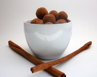 Cinnamon Dark Chocolate Truffles (16 count)