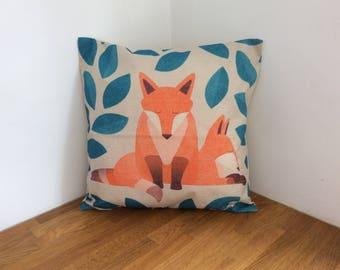 Fox Couple Cushion
