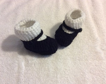 Mary Jane Sock Booties made to order