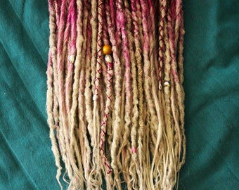 "DE Double Ended Synthetic Dreads ""Berry & Pastel Set"" by Afromod"