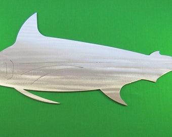 Metal Art Fish Replica & Silhouettes - Marlin Replica Fish