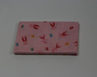 Patchwork TUTU ballet shoes pink 50x55cm TUTU cotton fabric Coupon