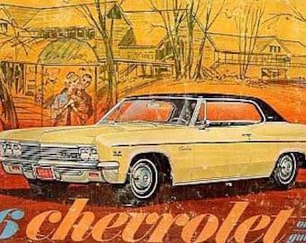 1966 Chevrolet Owner's Manual - Chevrolet 3879851
