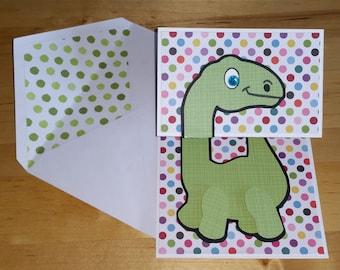 Dino, Boy, Birthday, Card, Dinosaur, Cute, Pop-Up, BDay, Expandable, 3-D, 3D, Child, Pop up