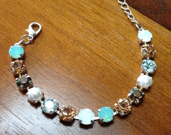 Everyday wear 8mm bracelet with mix of colors