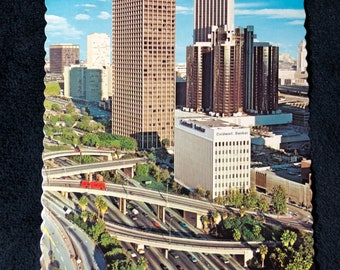 1977 Downtown Los Angeles Postcard