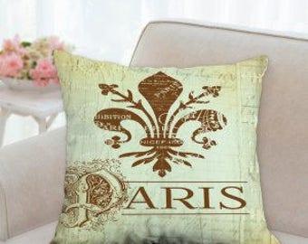 Paris Fluer de Lis Pillow