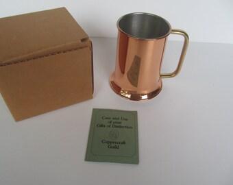 Copper // Coppercraft //Guild // Tanker - Mug - Stein -  NIB