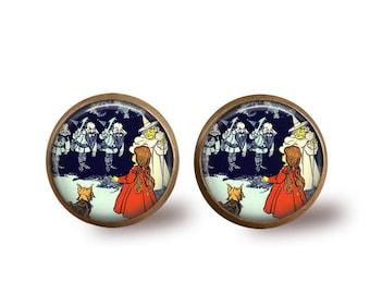 Vintage Wizard of Oz Earrings