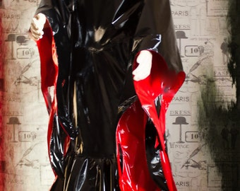 "The ""Morticia"" PVC Costume"