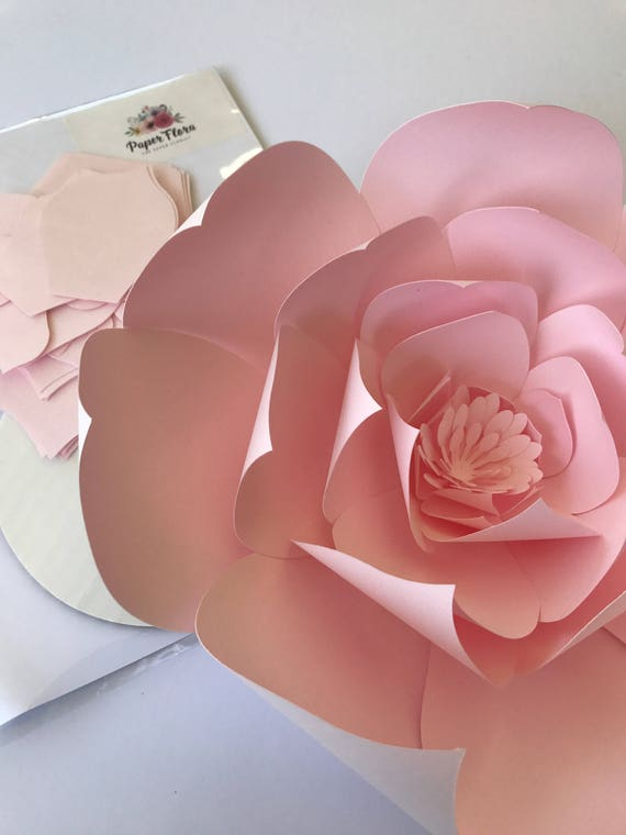 Paper flower kit do it yourself paper flower kits paper flower 300 shipping mightylinksfo Images