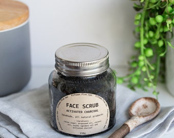 Face Scrub - Activated Charcoal