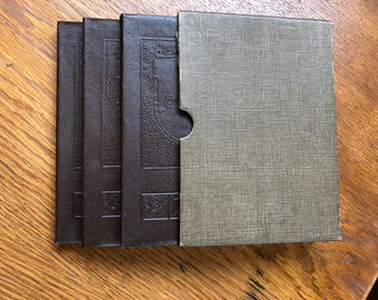 Vintage Rare 3 Book set of The Cure of Self-Consciousness by James Alexander (volumes I,II & II) with slip case