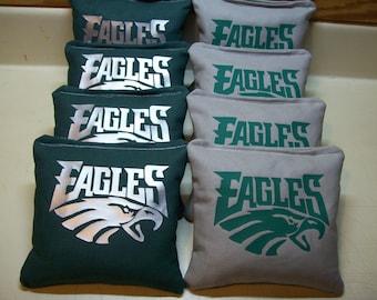Philadelphia Eagles nfl  8 Custom Cornhole Bags FREE CARRYING BAG