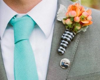 Memorial Tie Tack or Lapel Pin